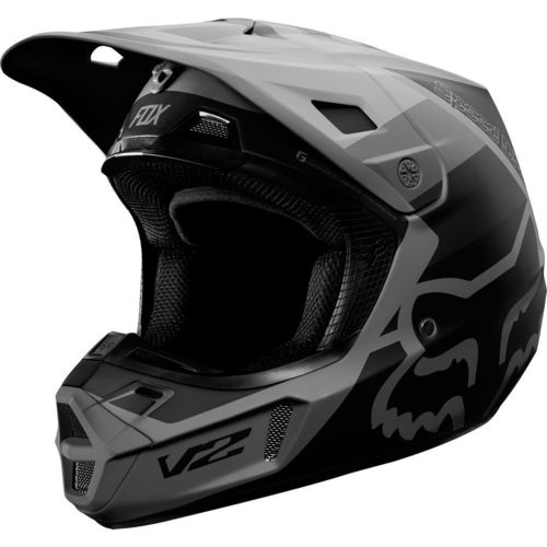 CASCO FOX V2 MURC GRIS T/S