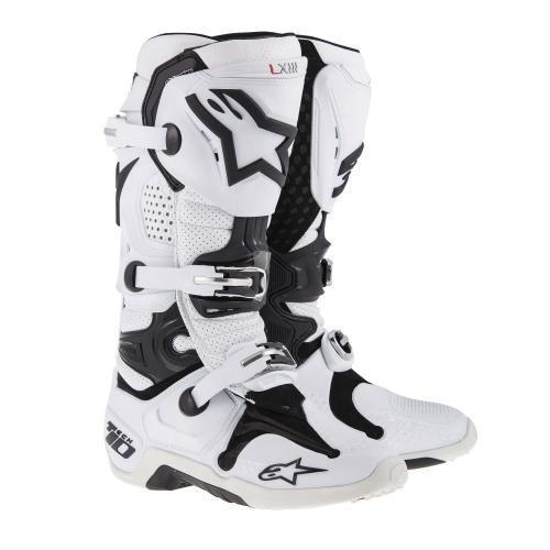 Botas Alpinestars Tech 10 Vented Bla 28.5, 28.5, Cm 10 USA