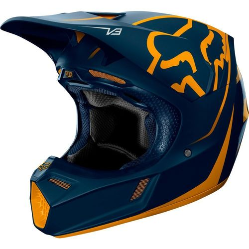 CASCO FOX V3 KILA AZUL T/M