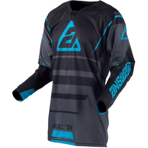 JERSEY ANSWER ELITE FORCE GRIS/AZUL T/S