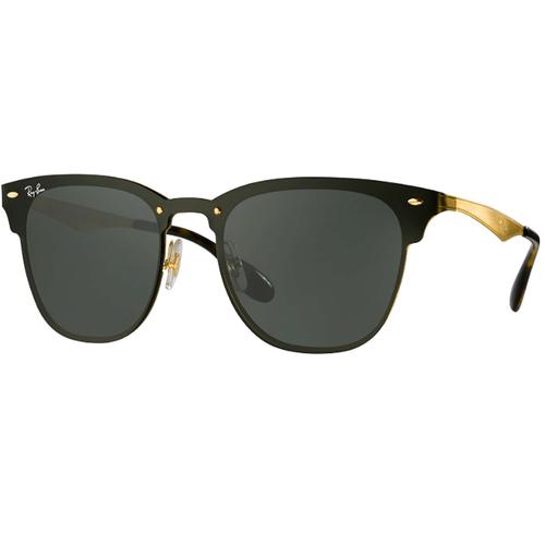 Lentes De Sol Ray Ban Blaze Clubmaster Rb3576 Negro Dorado
