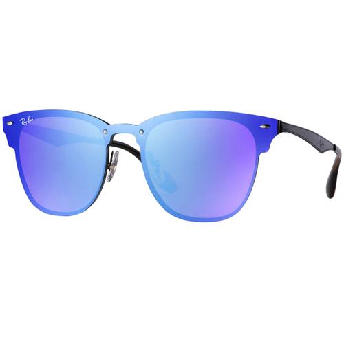 Lentes De Sol Ray Ban Blaze Clubmaster Rb3576 Azul