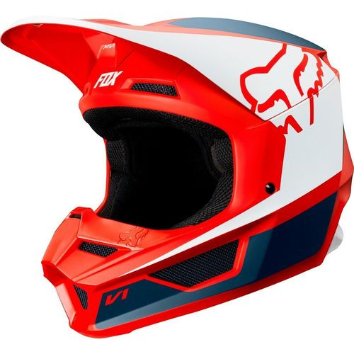 CASCO FOX PRZM ROJO T/M
