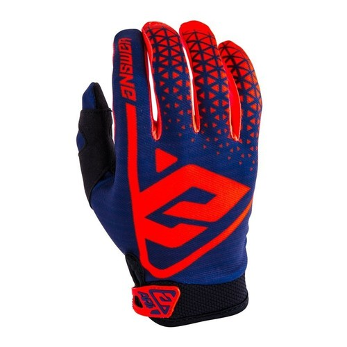 GUANTE ANSWER AR1 ROJO/AZUL T/M