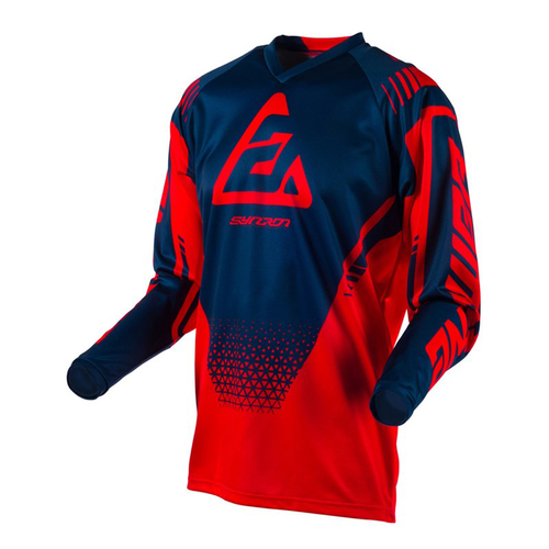 JERSEY ANSWER SYNCRON DRIFT YOUTH NIÑO JOVEN ROJO T/XL
