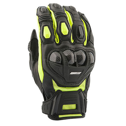 GUANTE JOE ROCKET BLASTER SR LEATHER NEGRO HV TALLA S