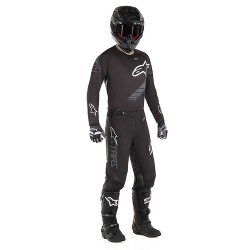 Kit Jersey Pant Alpinestars Techstar Graphite Neg Mx19 32-M