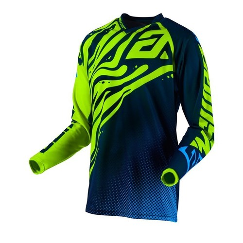 JERSEY ANSWER SYNCRON FLOW NEÓN/AZUL T/S