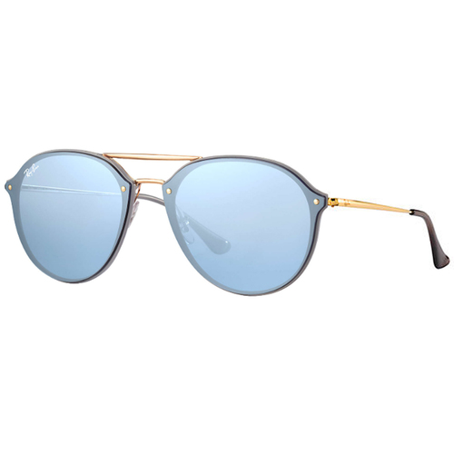 Lentes De Sol Ray Ban Blaze Double Bridge Azul Rb 4292