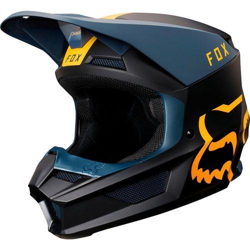 CASCO FOX V1 MATA CARDINAL AZUL T/S
