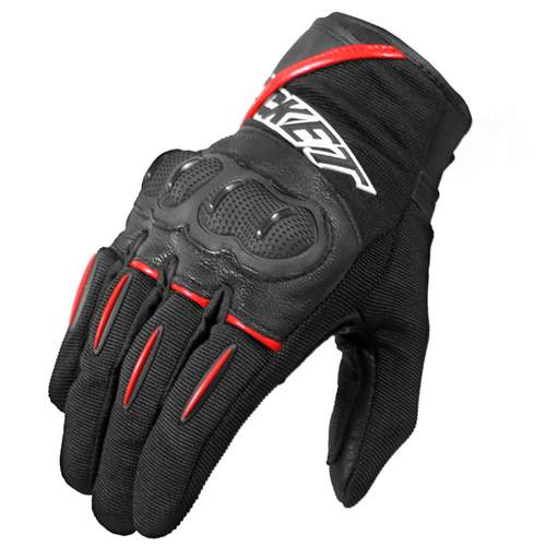 GUANTE JOE ROCKET SUPER MOTO NEGRO/ROJO T/M