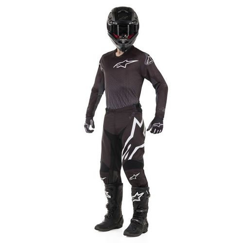 Kit Jersey Pant Alpinestars Racer Graphite Negro Mx19 32-M