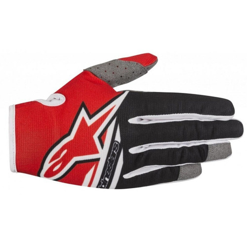 GUANTE ALPINESTARS RADAR FLIGHT ROJO/NEGRO T/M