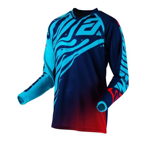 JERSEY ANSWER SYNCRON FLOW AZUL/AQUA T/S