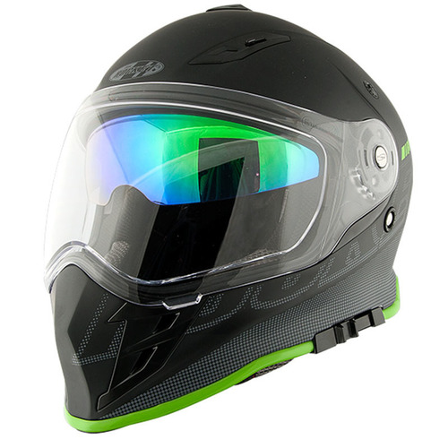 CASCO JOE ROCKET RKT-25 SERIES NEGRO/VERDE T/S