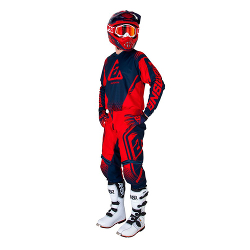 KIT ANSWER SYNCRON DRIFT ROJO JERSEY M PANTALON 32