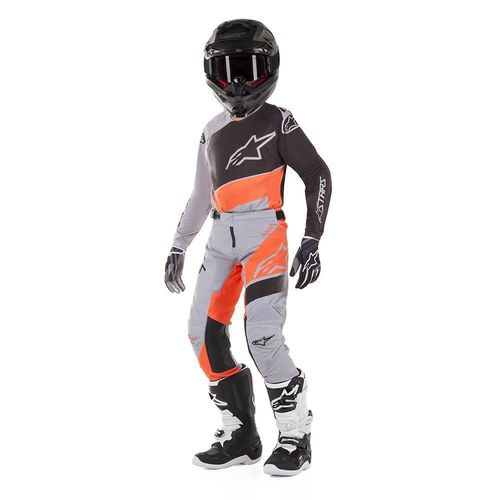 Kit Jersey Pant Alpinestars Racer Supermatic Nar Mx19 Niño 24-S