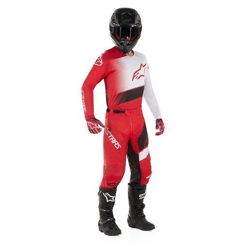 Kit Jersey Pant Alpinestars Racer Supermatic Rojo Mx19 32-L