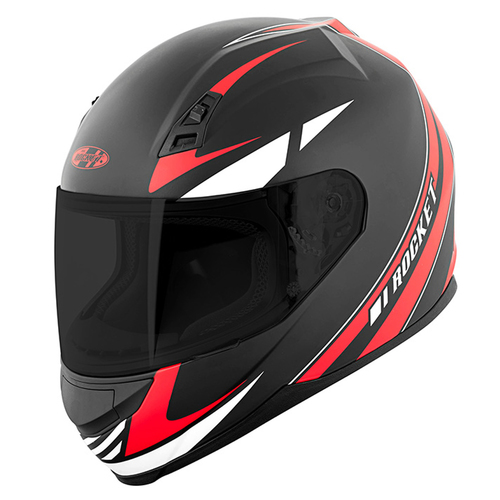 CASCO JOE ROCKET RKT 7 REACTOR ROJO MATE T/S