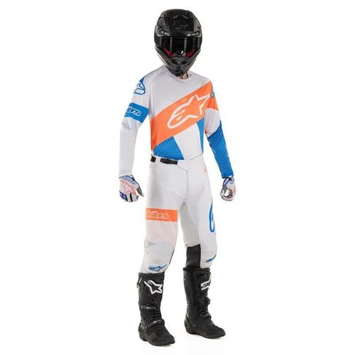Kit Jersey Pant Alpinestars Racer Tech Bco Nar Mx19 32-M