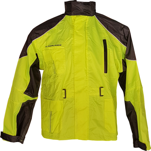 CHAMARRA IMPERMEABLE NELSON RIG AS 3000 FLUO T/S