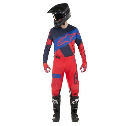 Kit Jersey Pant Alpinestars Racer Tech Atomic Rojo Mx19 32-M