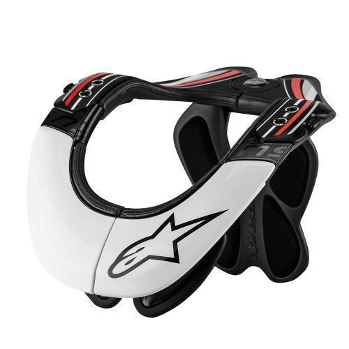 Alpinestars Pro Bionic Neck Support Blanco,negro,rojo XS/M