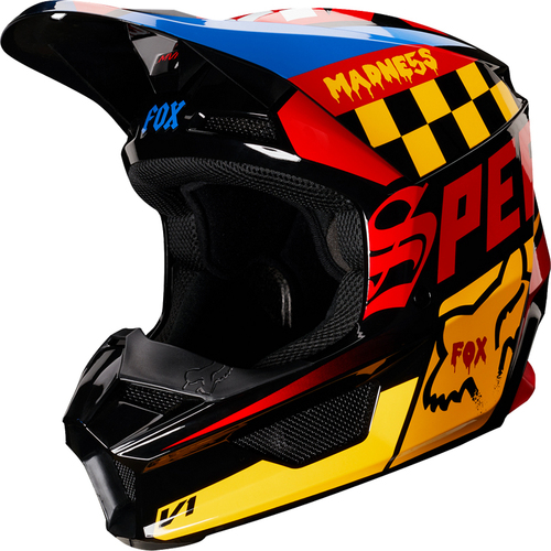 CASCO FOX V1 CZAR AMARILLO T/S