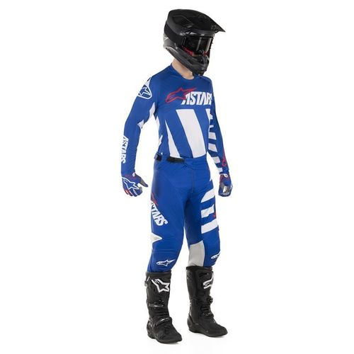 Kit Jersey Pant Alpinestars Racer Braap Azul Mx 19 32-M