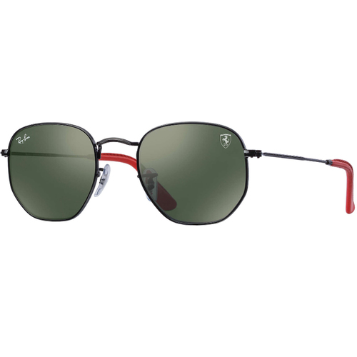 Lentes Ray Ban Rb3548nm Scuderia Ferrari Collection Verde Botella
