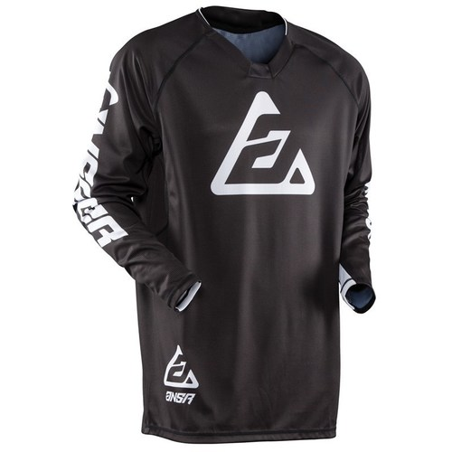 JERSEY ANSWER ELITE NEGRO T/S
