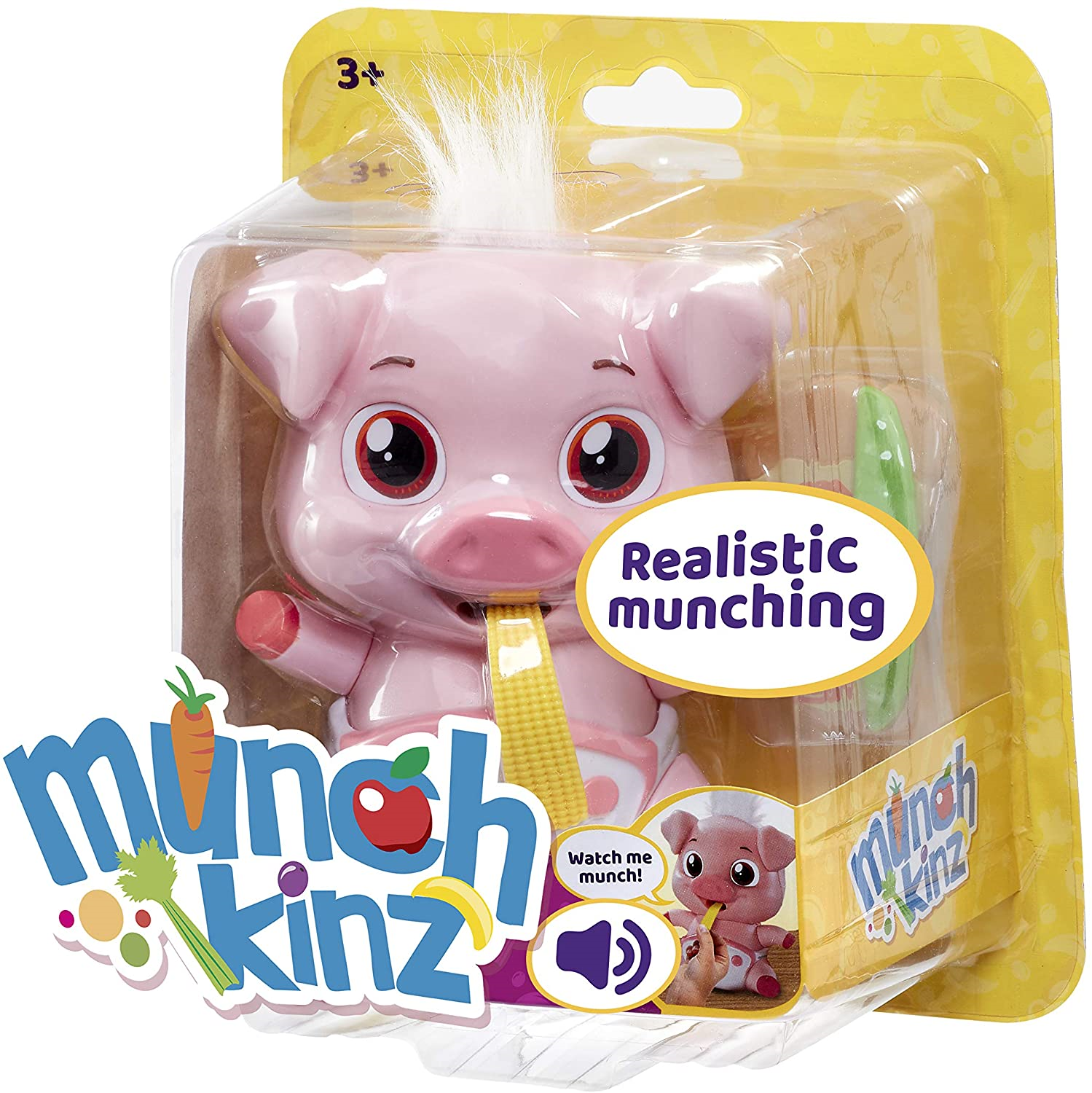Munchkinz-GE11601-Interactive-pet-Pig-with-30-Sounds-and-Movement-Multi