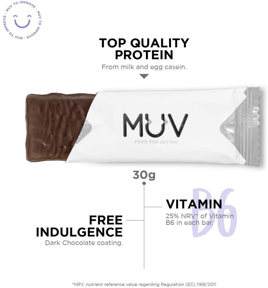Muv-Food-For-Action-Protein-Bar-Chocolate-Fudge-Flavour-12-x-30-g thumbnail 3