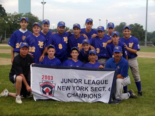 2003 Long Island Champs - Juniors Tournament Team