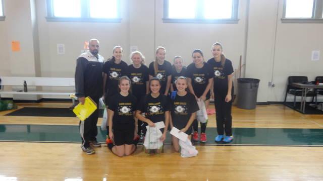 Deer Lakes Girls JV Futsal Tournament Team