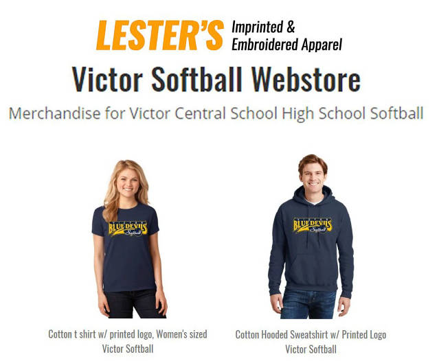 Victor Blue Devils Softball - Sponsored by the Booster Club