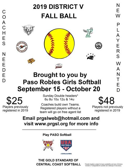 Templeton Girls Softball & Youth T-Ball - (Templeton, CA) - powered