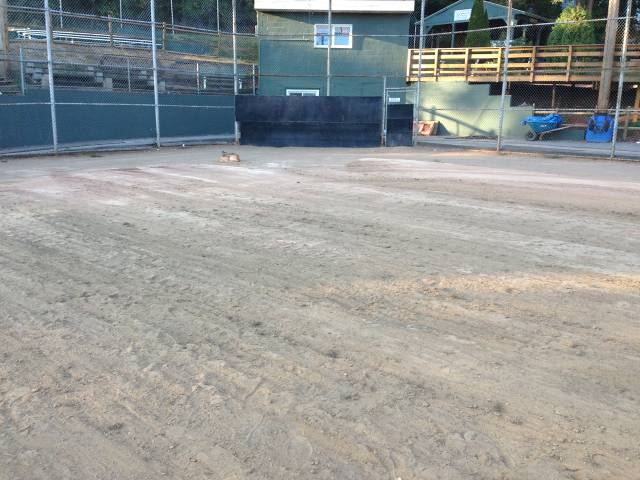 2nd Base View Before