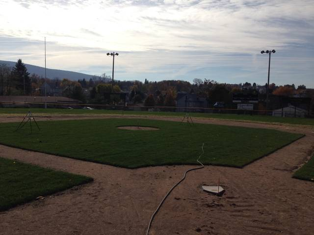 Home Plate View After