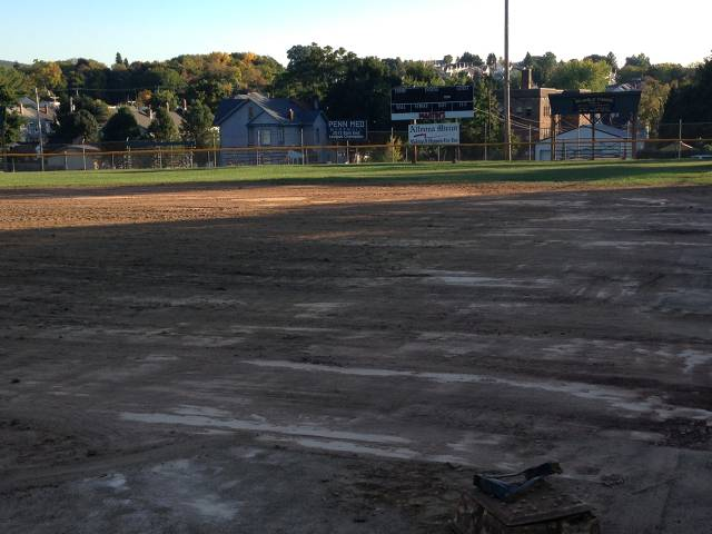 Home Plate View Before