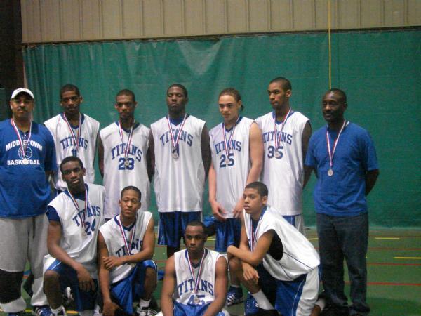 16U Diamond State Titans AAU Super Regional ChampionshipSilver Medalist