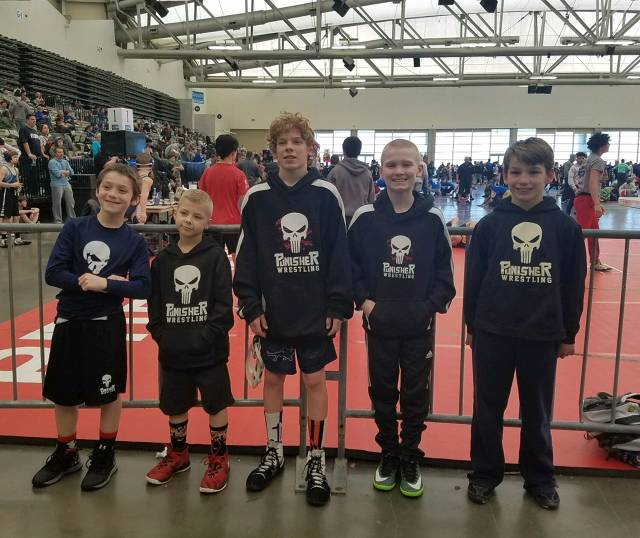 PERRY HALL PUNISHER WRESTLING TEAM - (Perry Hall, MD