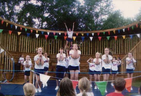 Performing at the Opening of the Marchwood Amphitheatre 2009