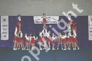 Loughborough - Cheerleading Competition