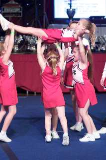 Prep Stunt Division - Blackpool Cheerleading Competition