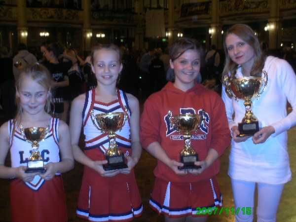 Blackpool - Cheerleading Competition 2007
