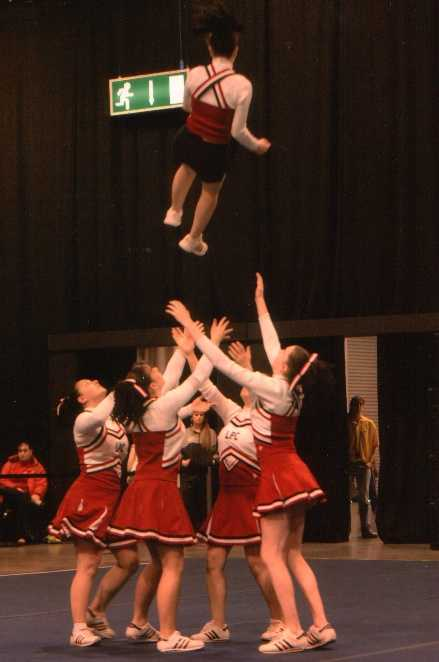 Telford - Cheerleading Competition 2006