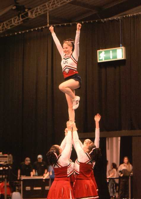Telford - Cheerleading Competition