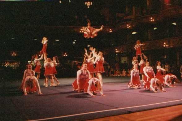 Blackpool - Cheerleading Competition