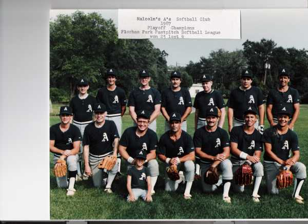 1987 Pennant & Playoff Champs